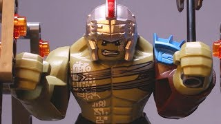 LEGO Hulk STOP MOTION w/ Hulk Angry In Space | LEGO Star Wars | By LEGO Worlds