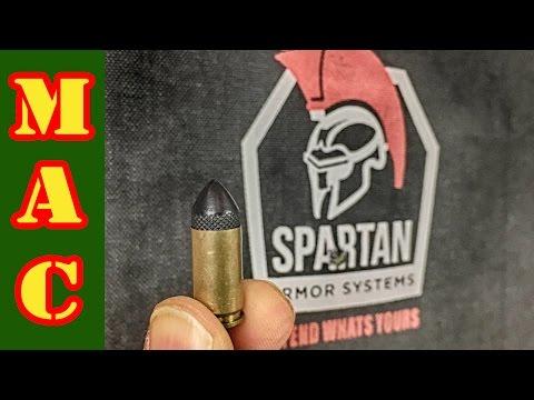Can 9mm defeat IIIA body armor?