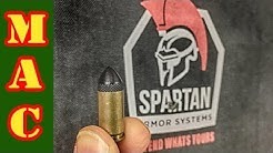Can 9mm defeat IIIA body armor?