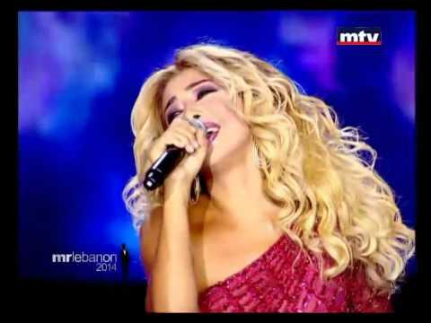 All Songs of Nawal El Zoghbi during Mr Lebanon 2014 on mtv