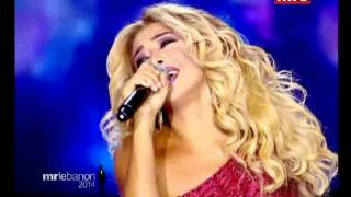 All Songs of Nawal El Zoghbi during Mr Lebanon 2014 on mtv