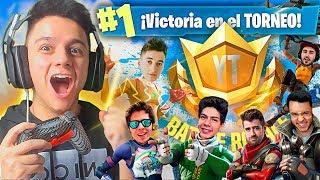 MI ÉPICA VICTORIA EN EL TORNEO DE RUBIUS CON MÁS DE 100 YOUTUBERS!! #YTBattleRoyale