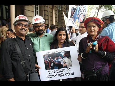 Chalo Bombay House Protest By Mumbai Photo Journalists Against Tata Sons