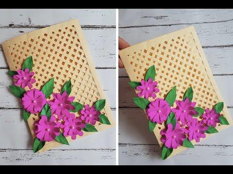Beautiful Handmade Card for Birthday/Anniversary - DIY Card Idea