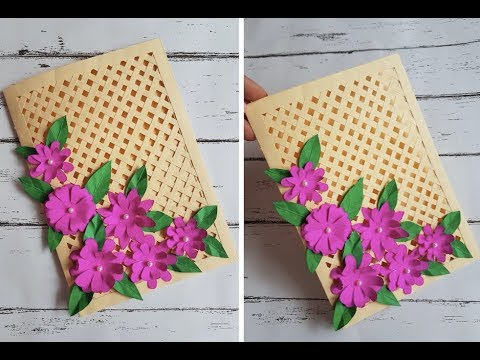beautiful-handmade-card-for-birthday/anniversary---diy-card-idea