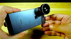 iPhone 5 Lens Kit Review - Fish-Eye, Telephoto & Macro