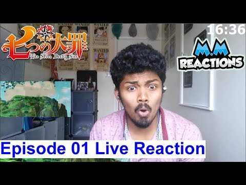 Meliodas and Elizabeth - The Seven Deadly Sins Episode 1 Live Reaction (Nanatsu no Taizai)