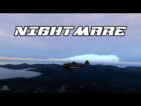 Nightmare - P-26A-34 M2 Peashooter War Thunder Gameplay