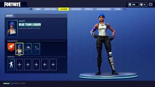 HOW TO GET THE BLUE TEAM LEADER SKIN IN FORTNITE (FREE BLUE TEAM LEADER SKIN AND GLIDER)