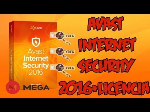 Avast Internet Security 2016 Full Licencia Hasta 2018 de 32 y 64 bits [Mega]