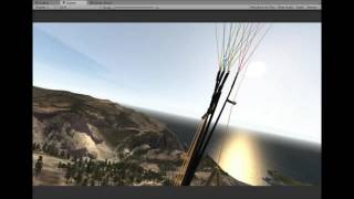 Paraflysim 3D Paragliding Simulator - Oludeniz Turkey Late Afternoon