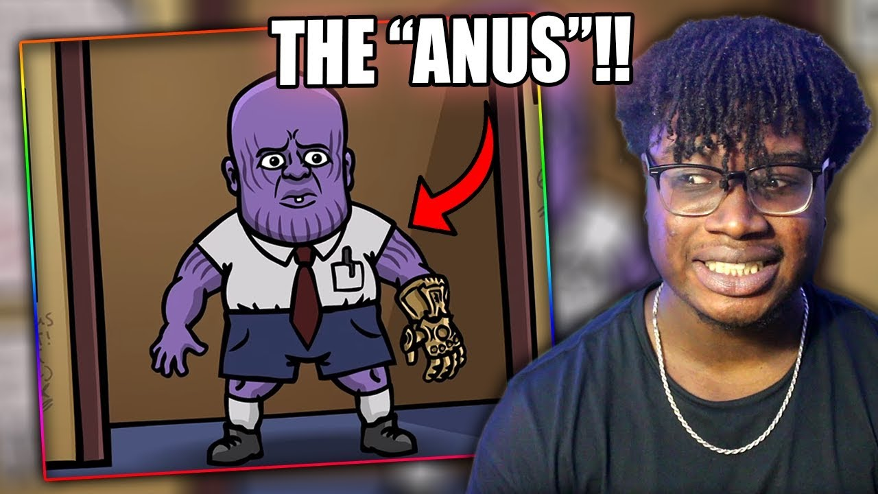 EVIL BABY THANOS! | Avengers Infinity War Trailer Spoof Reaction - YouTube