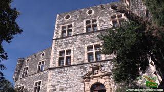 Ardèche - Château d'Alba la Romaine