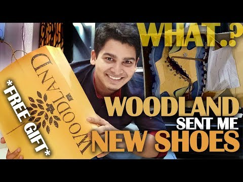 WOODLAND sent me BRAND NEW SHOES. *Next Expedition GIFT*