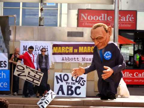 Real Big Tony @ March In March, Canberra, 2015.