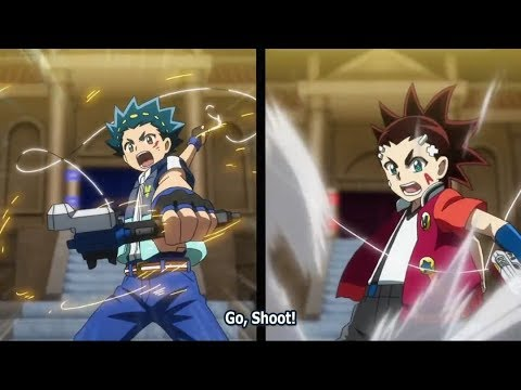 Valt VS Aiga! Beyblade Burst Turbo Episode 28