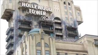 Hollywood Tower Hotel Disneyland Paris(Tower of Terror ou Tour de la Terreur est une attraction de Disney basée sur le principe des tours chute libre mais utilisant la technologie des ascenseurs., 2013-10-07T21:52:35.000Z)