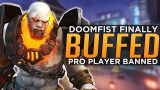 overwatch big doomfist buffs pro player banned for boosting