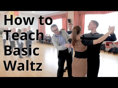 Workshop - How to do Basic Waltz for Beginners| Ballroom Dan