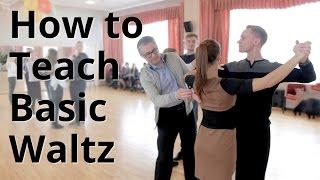 Workshop - How to do Basic Waltz for Beginners| Ballroom Dance