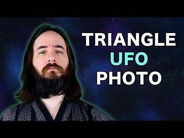 Amazing Triangular UFO Photo About to Leak?