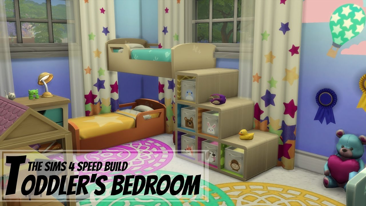 The Sims 4 Toddler S Bedroom Bunk Beds