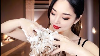 [ASMR] Relaxing Scalp Treatment and Shampoo