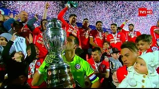 Chile 0 (4)-(1) 0 Argentina | Final Copa América 2015 | Luis Omar Tapia - Pedro Carcuro