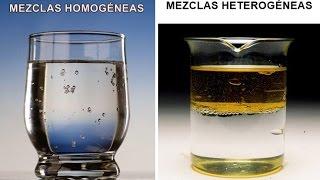 separacion de mezclas homogeneas y heterogeneas
