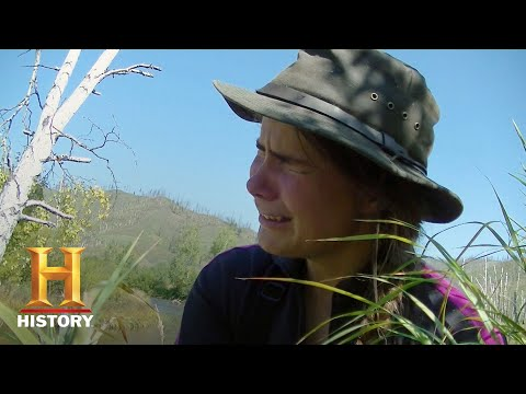 Alone: Carleigh Gets A Hook Stuck In Her Hand (Season 5, Episode 1) | History