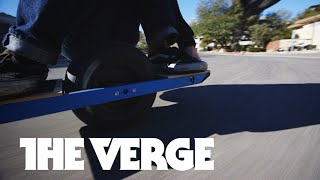 Riding the Onewheel at CES 2015