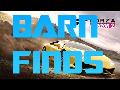 Montellino BARN FINDS (Forza Horizon 2) - YouTube