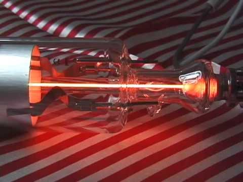 he ne gas laser tube youtube. Black Bedroom Furniture Sets. Home Design Ideas