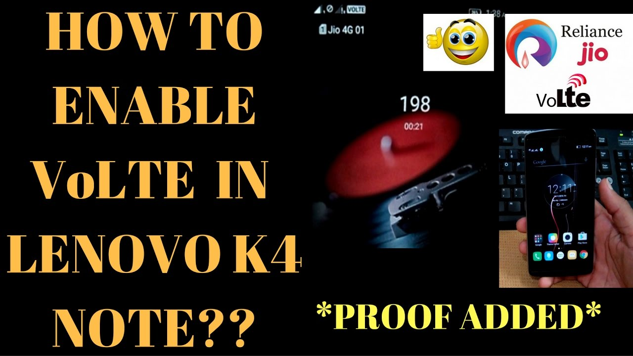 How to enable volte in lenovo vibe k4 note successfully proof how to enable volte in lenovo vibe k4 note successfully proof added youtube buycottarizona