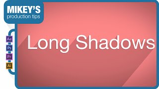 Long shadows in motion graphics tutorial