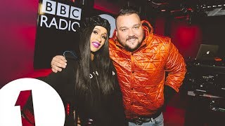 Cardi B does ASMR with Charlie Sloth