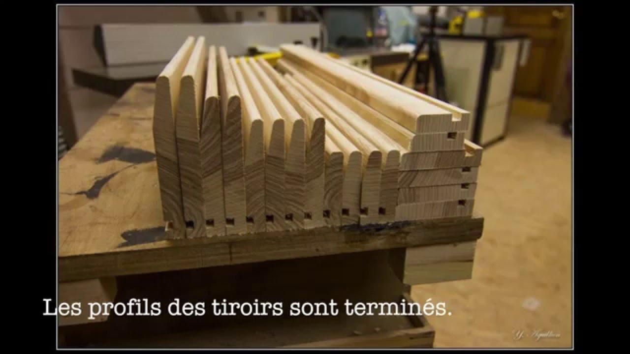 Cuisine en massif fabrication des tiroirs youtube for Cuisine en contreplaque