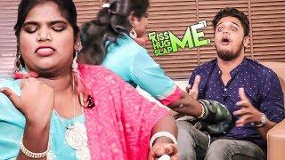 VJ-க்கு தர்ம அடி கொடுத்த Aranthangi Nisha - Kiss Me😘 Hug Me🤗 Slap Me👋 | KHS