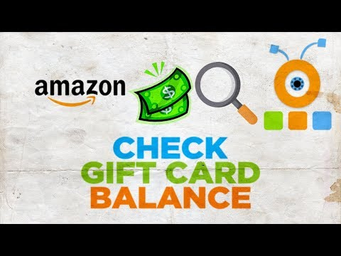How To Check Gift Card Balance On Amazon