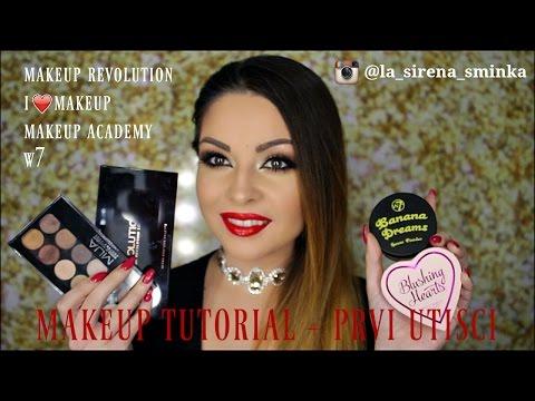 TUTORIAL + Prvi utisci-Makeup Revolution (@la_sirena_sminka)