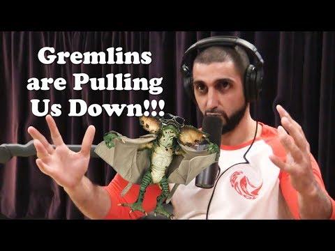 Firas Zahabi Debunks the Theory of Gravity with GREMLINS Gravity Theory!! Joe Rogan Podcast!