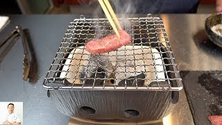 World's Best Beef On Binchotan Charcoal Grill | Japanese Miyazaki Wagyu A5 Strip Steak