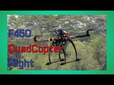 F450 Quadcopter - Drone Flight