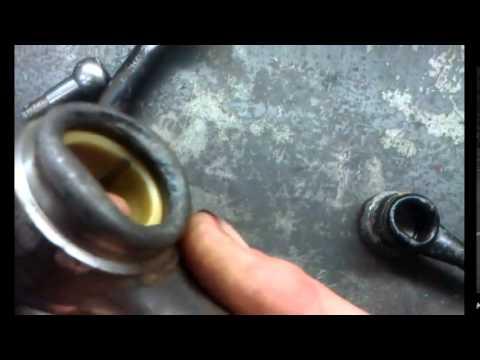 Звук,когда поршень встречается с клапаном.(видео от подписчика)