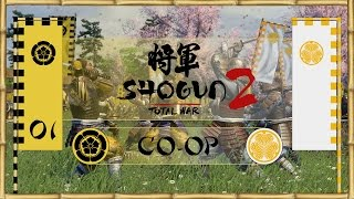 Let's Play Total War: Shogun 2 (Co-Op) - Oda & Tokugawa -  - A Bright Future!