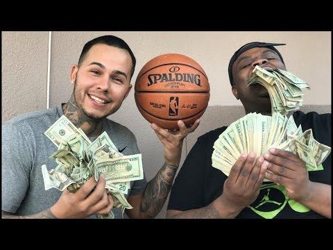 NBA 2K17 IN REAL LIFE 1 VS 1 $5,000 Bet Vs DerekDeso