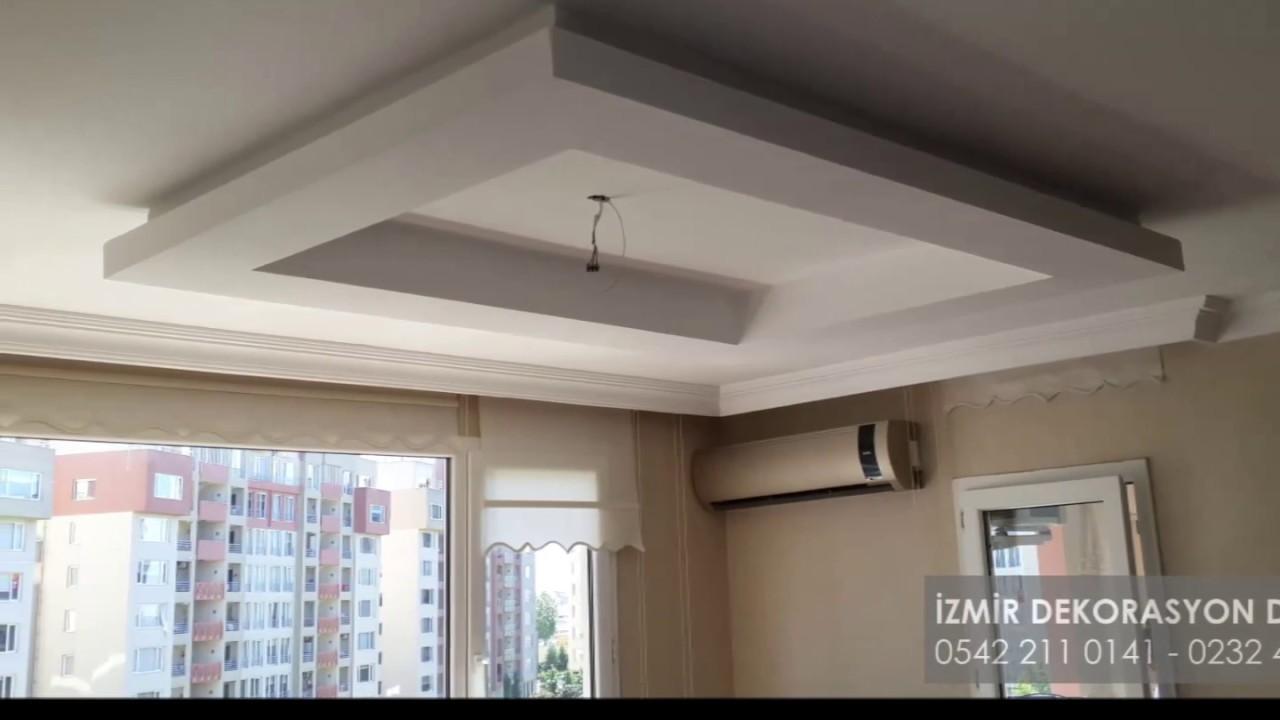 Asma tavan modeller yen zm r dekorasyon d nyasi youtube for Acik mutfak salon dekorasyon