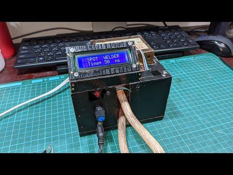用微波爐變壓器和arduino自製具有時間控制的點焊機 Homemade Time  Control Spot Welder Use Mircowave Transformer