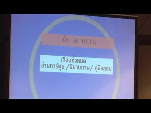 """ผลวิจัย """"พฤติกรรมการอ่านและการซื้อหนังสือของคนไทย"""""""