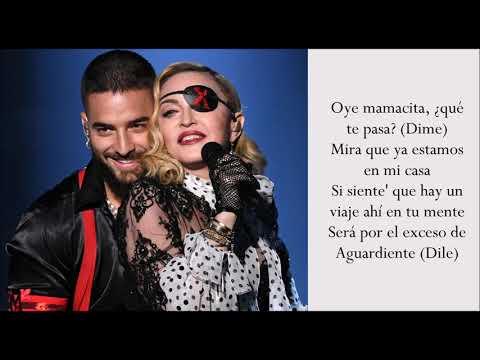 Medellín - Madonna & Maluma - (Lyrics)